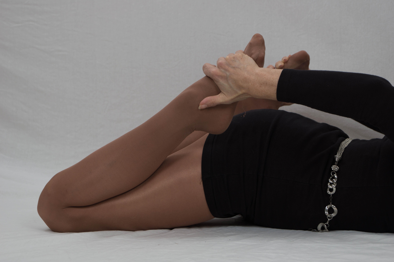 Sample pantyhose bondage